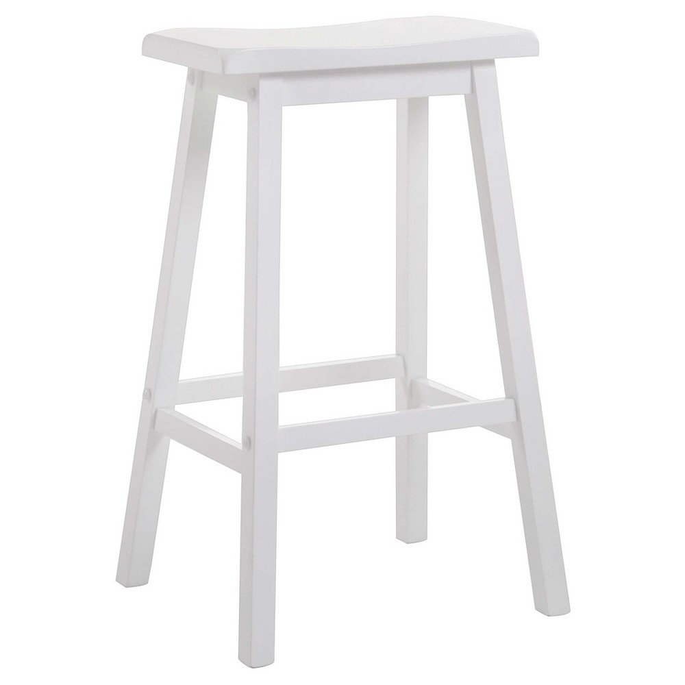 Image of 2pc Counter And Bar Stools Acme Furniture White