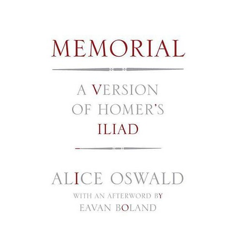 Memorial - by  Alice Oswald (Hardcover) - image 1 of 1
