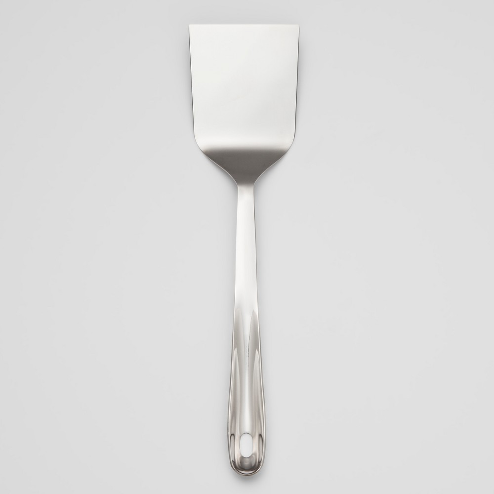 Image of Stainless Steel Solid Turner - Made By Design , Silver