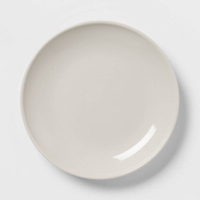 "10.1"" Stoneware Avesta Dinner Plate Gray - Project 62™"