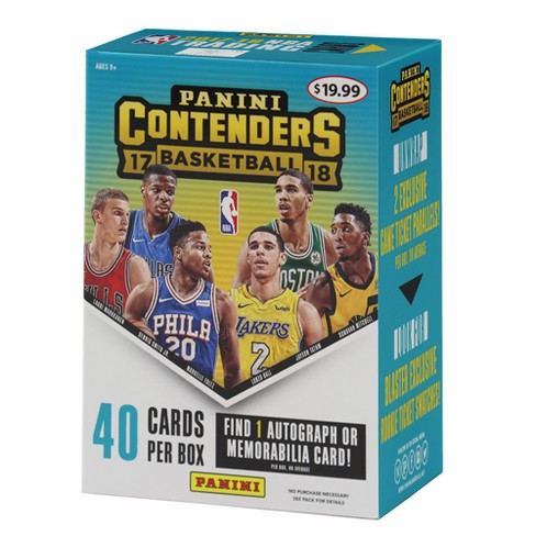 2018 NBA Basketball Trading Card Contenders Draft Picks Full Box - image 1 of 3
