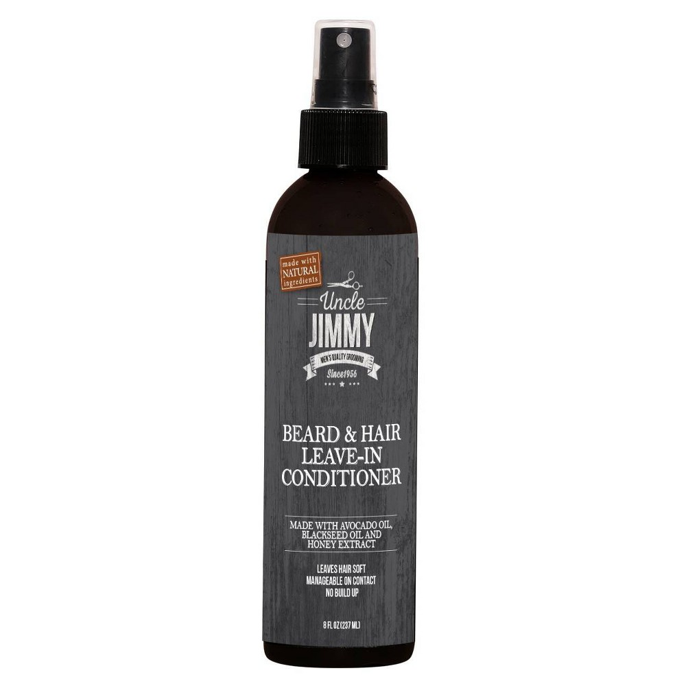 Image of Uncle Jimmy hair & Beard Leave in Conditioner - 8oz