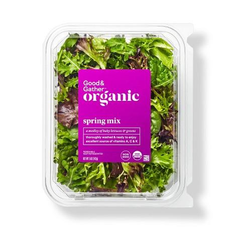 Organic Spring Mix Lettuce - 5oz - Good & Gather™ - image 1 of 3