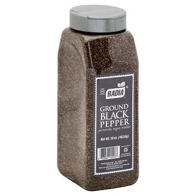 Badia Ground Black Pepper - 16oz