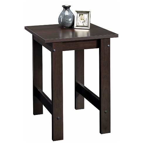 Beginnings End Table - Cinnamon Cherry - Sauder - image 1 of 2