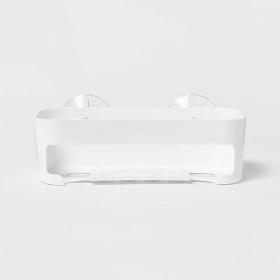 Basic Suction Basket White - Room Essentials™