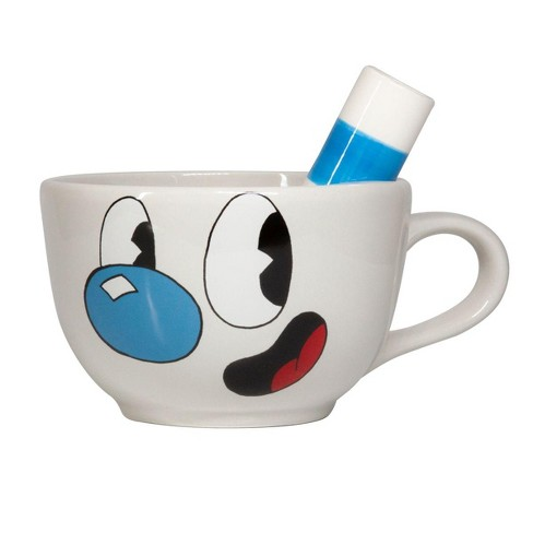 Just Funky Cuphead Collectibles | Ceramic Molded Mugman Cup | 20 oz - image 1 of 4