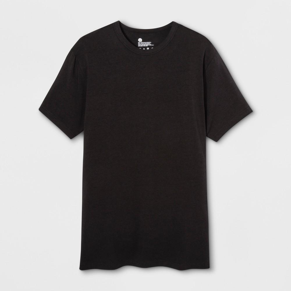 Men's Wood Works Short Sleeve Crew Neck T-Shirt - Black S