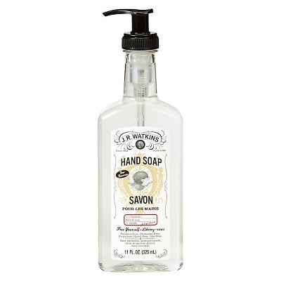 J.R. Watkins Coconut Scented Hand Soap 11 oz