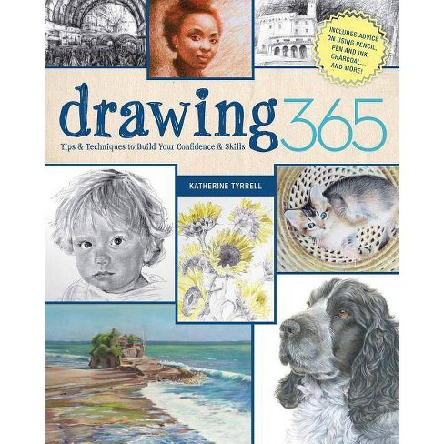 Drawing 365 - by  Katherine Tyrrell (Paperback) - image 1 of 1