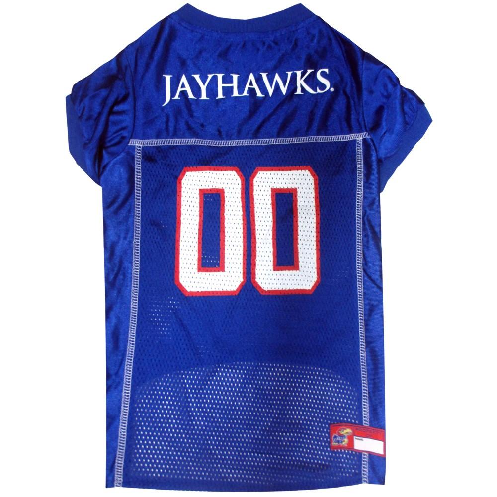 Pets First Kansas Jayhawks Mesh Jersey - Xxl, Multicolored