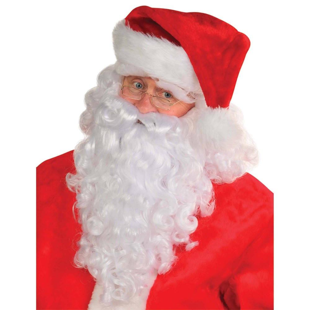 Image of Halloween Premium Santa Wig and Beard Set Costume Accessory - Amscan, Adult Unisex, MultiColored