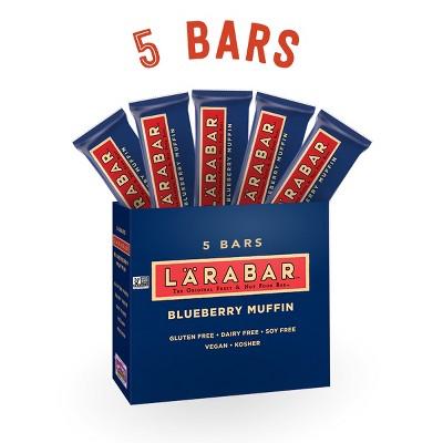 Larabar Blueberry Muffin Fruit And Nut Bar - 5ct