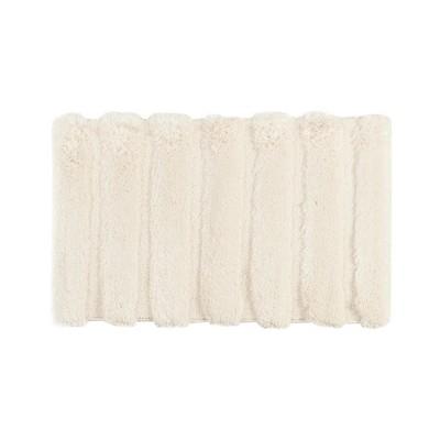 Tufted Pearl Channel Solid Bath Rug Wheat (21x34 )
