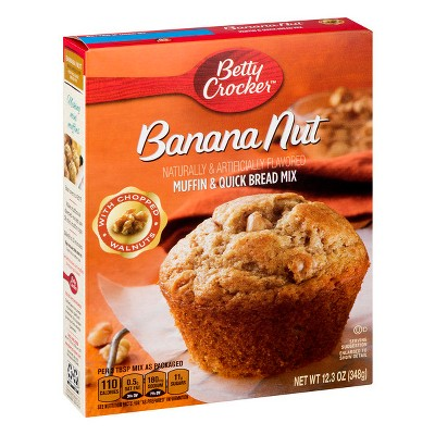 Baking Mixes: Betty Crocker Banana Nut Muffin Mix