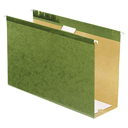 "Pendaflex Reinforced 4"" Extra Capacity Legal Sized Hanging File Folders - Standard Green (Box of 25) - image 1 of 1"