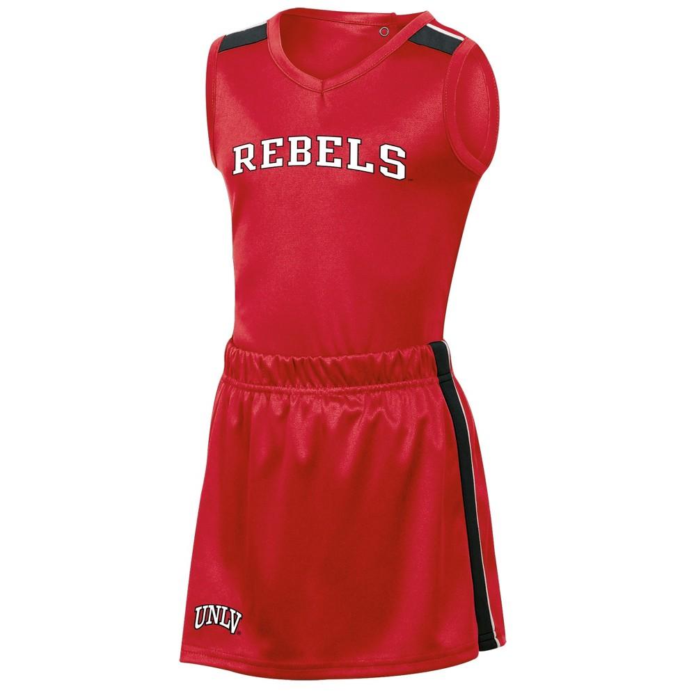 Unlv Rebels Girls' 3pc Cheer Set 3T, Multicolored