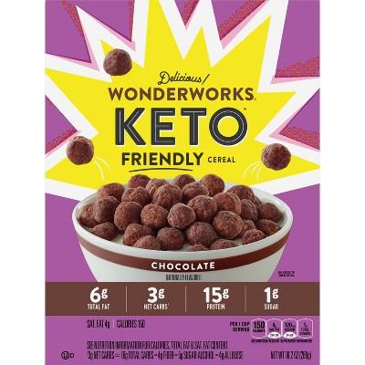 Wonderworks Keto Chocolate Cereal - 10.2oz - General Mills