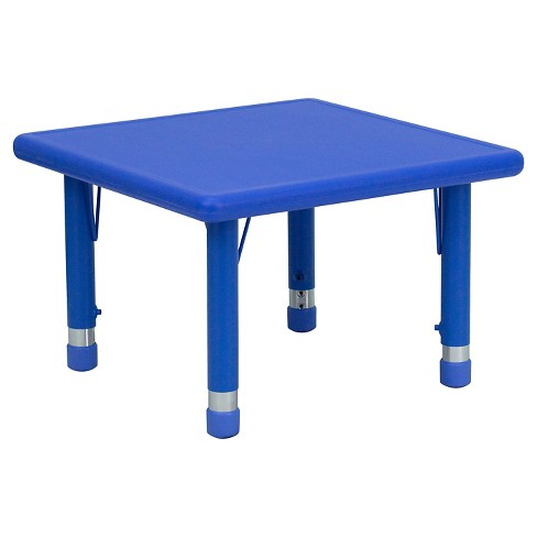 Flash Furniture Square Activity Table Blue - Belnick - image 1 of 4