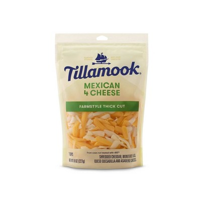 Tillamook Mexican 4 Cheese Blend Shredded Cheese - 8oz