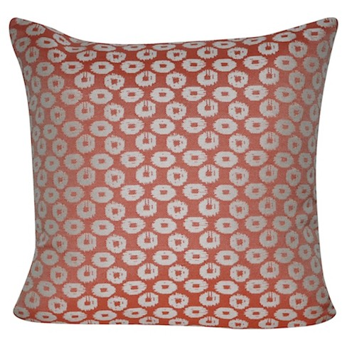 Indoor/Outdoor Circles Throw Pillow - Loom and Mill - image 1 of 2
