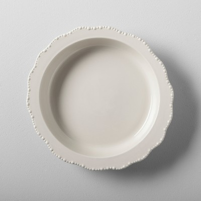 Stoneware Pie Pan Cream - Hearth & Hand™ with Magnolia