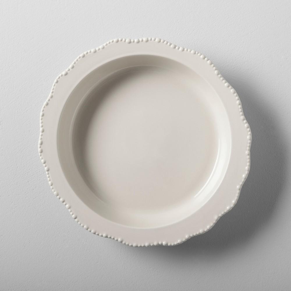 Stoneware Pie Pan - Cream (Ivory) - Hearth & Hand with Magnolia