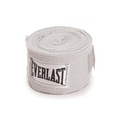 Everlast White Hand Wraps