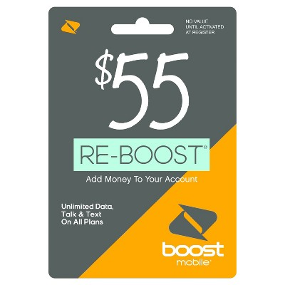 Boost Mobile Prepaid Card (Email Delivery)