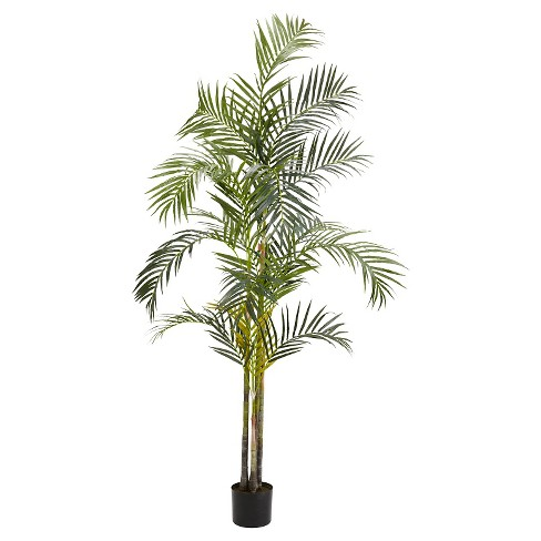 Nearly Natural 7' Areca Palm Silk Tree - image 1 of 1