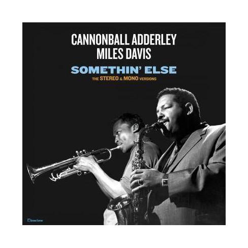Cannonball Adderley - Somethin' Else: The Stereo & Mono Versions (Vinyl) - image 1 of 1