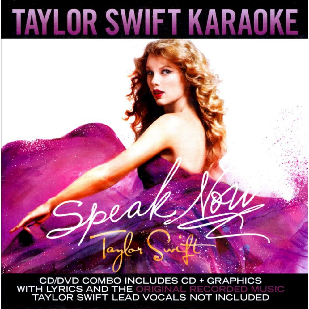 Karaoke - Speak Now: Taylor Swift Karaoke (CD/DVD) Top