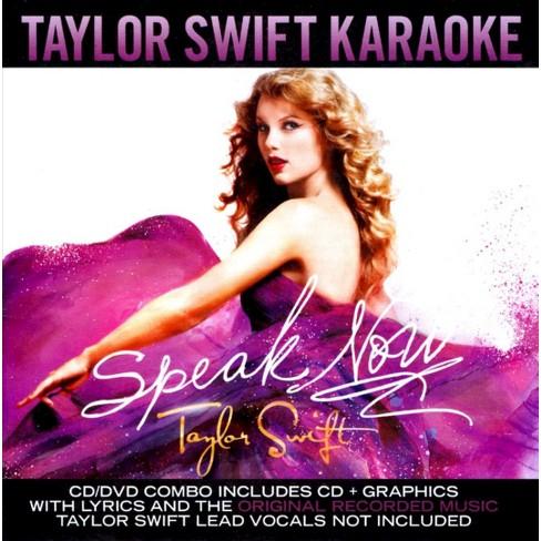 Karaoke - Speak Now: Taylor Swift Karaoke (CD/DVD) - image 1 of 1