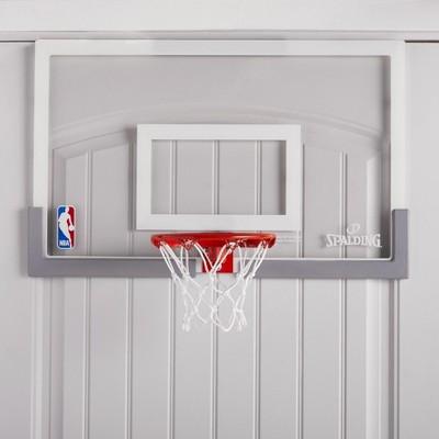 Spalding NBA Breakaway 180 Over-the-Door Basketball Hoop Set