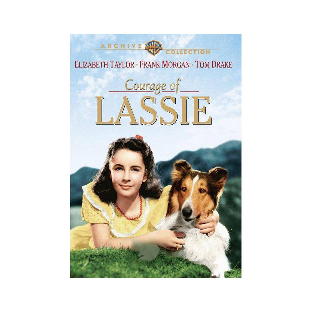 Courage Of Lassie Dvd 2014
