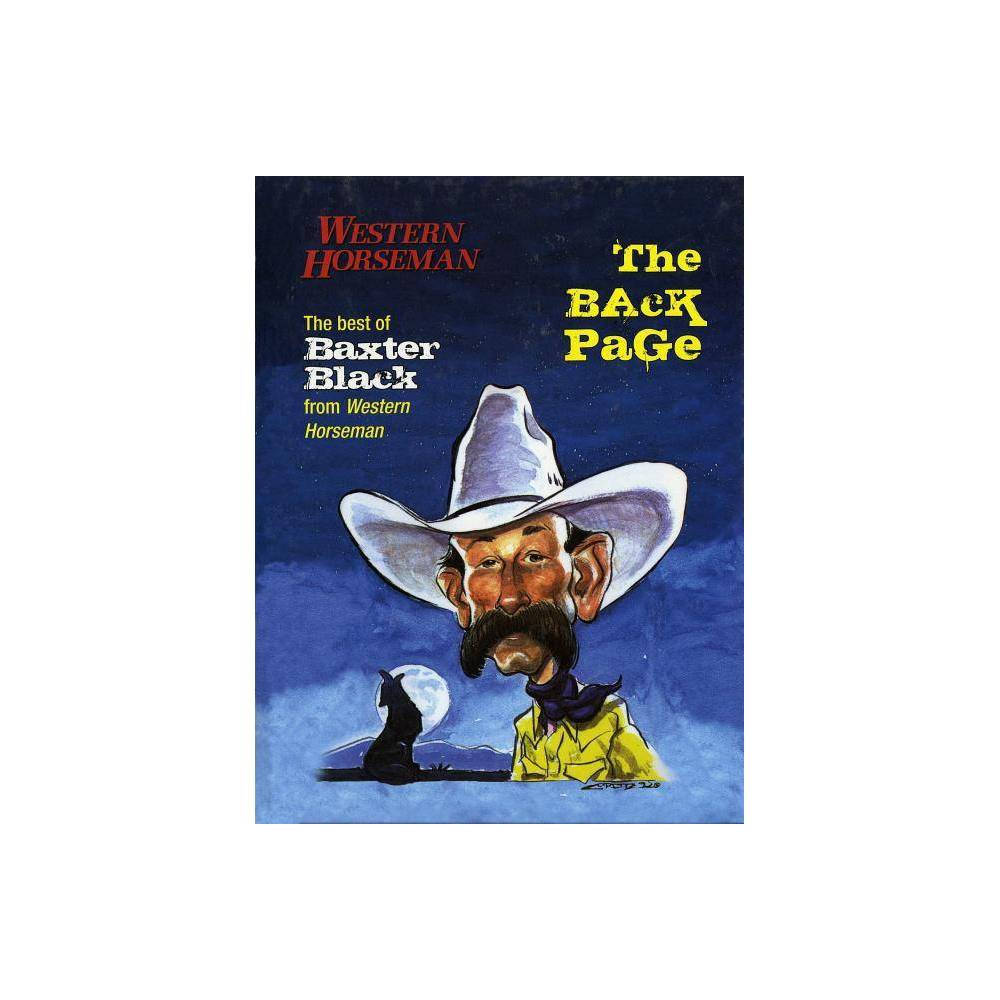 Back Page By Baxter Black Hardcover