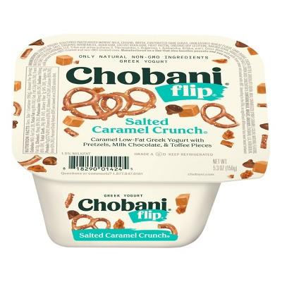 Chobani Flip Salted Caramel Low Fat Greek Yogurt - 5.3oz