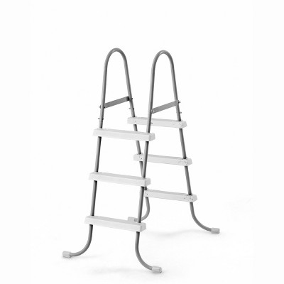 Intex Above Ground Steel Frame Swimming Pool Ladder for 42-In. Wall Height Pools