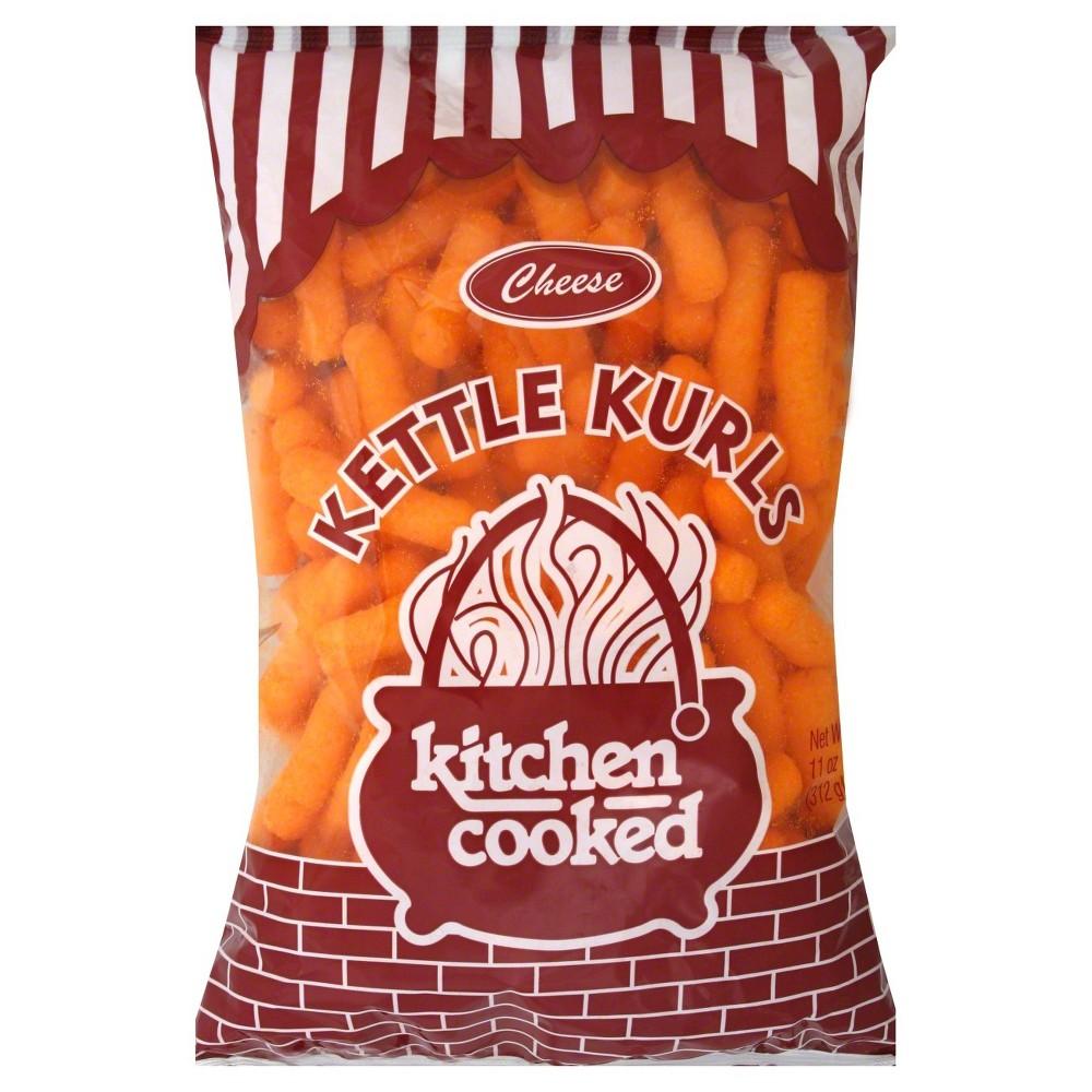 Kitchen Cooked Cheese kettle Kurls - 11 oz, Java Black