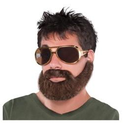 Hangover Beard And Mustache Halloween Costume Accessory