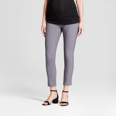 Maternity Inset Panel Ankle Skinny Trouser - Isabel Maternity by Ingrid & Isabel™ - image 1 of 4
