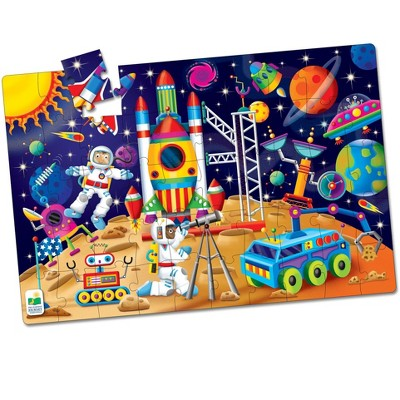 The Learning Journey Jumbo Floor Puzzles  Out In Space 50 pieces