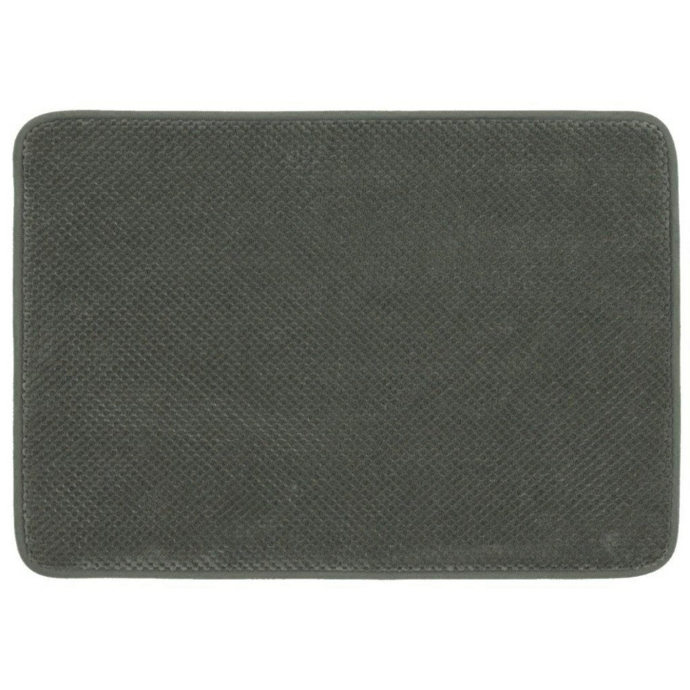 "Image of ""17""""x24"""" Bubble Memory Foam Bath Rugs & Mats Radiant Gray - Threshold"""