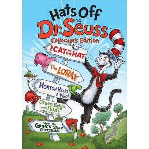 How The Grinch Stole Christmas 1966 Dvd.Hats Off To Dr Seuss Dvd
