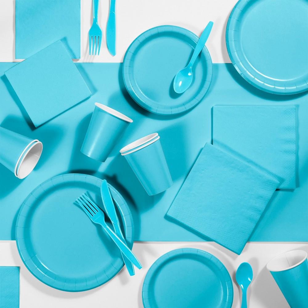 245pk Party Supplies Kit Bermuda Blue Cheap