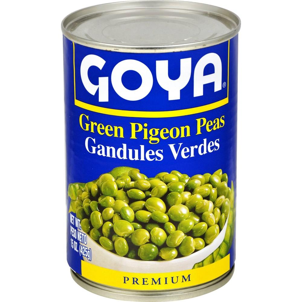 Goya Green Pigeon Peas 15oz