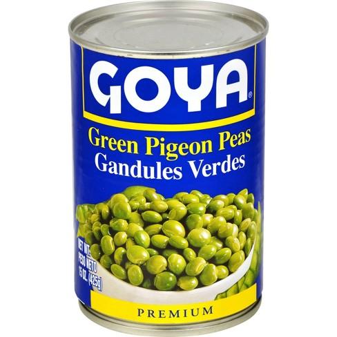 Goya Green Pigeon Peas - 15oz - image 1 of 4