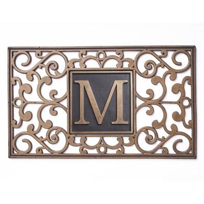 Lakeside Monogram Hidden Key Doormat - : Target