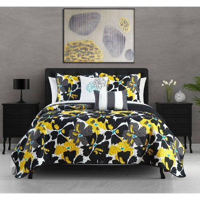 Astra Bed In A Bag Quilt Set - Chic Home Design