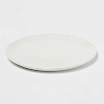"12"" Stoneware Acton Serving Platter - Threshold™"